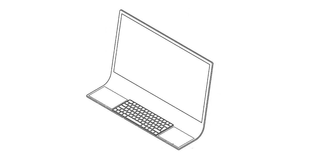 iMac ενσωματωμένο σε κυρτή οθόνη οραματίζεται η Apple
