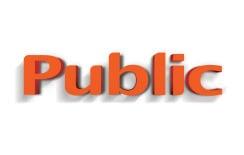Public Logo 3D WhiteBG