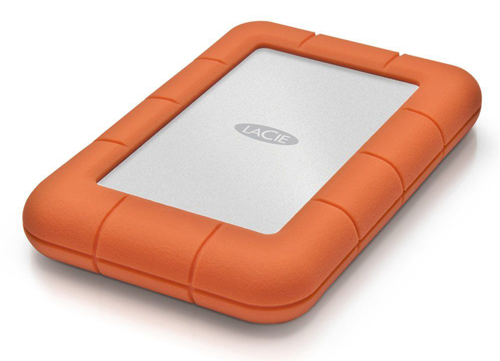 LaCie Rugged Thundebolt: Orange power!