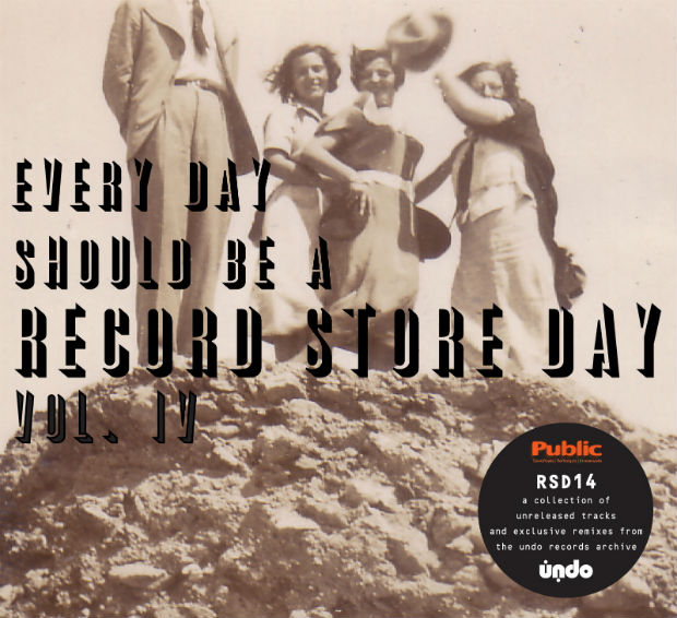 EVERYDAY SHOULD BE A RECORD STORE DAY Vol IV cd cover