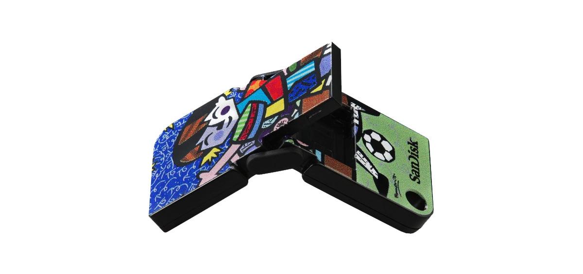 "SanDisk 8GB ""Romero Brittο"" Special Edition!"