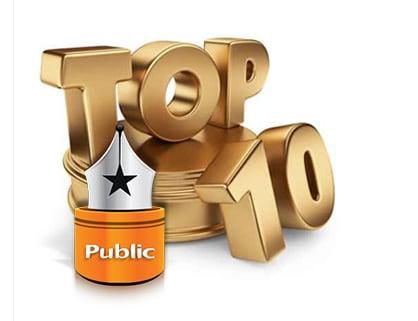 Τελικές υποψηφιότητες Βραβείων Βιβλίου Public: Αναδείξτε τους νικητές!