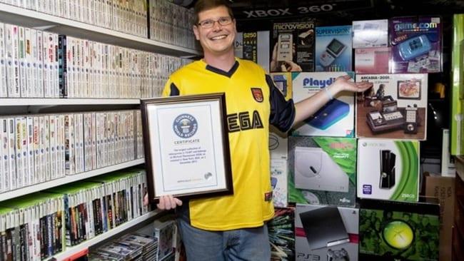 750 χιλιάδες δολάρια πουλήθηκε η μεγαλύτερη συλλογή video games!