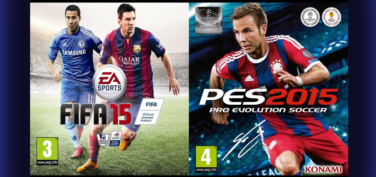 Με 1.5 μήνα διαφορά τα FIFA και PES φέτος