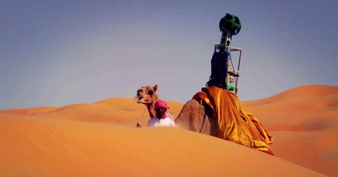 H Google χαρτογράφησε την έρημο!