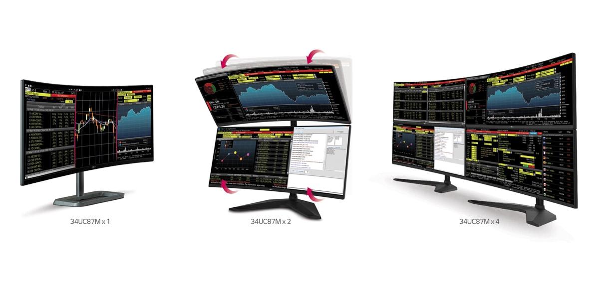 CES 2015: Νέα κυρτά gaming monitors από την LG