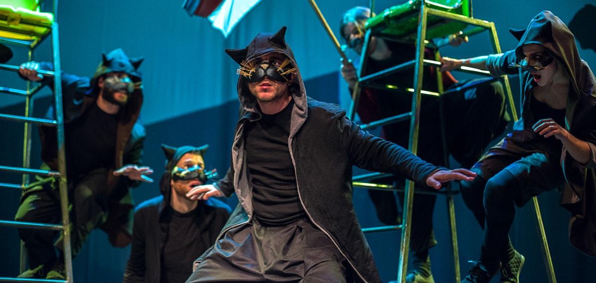Η Τελευταία Μαύρη Γάτα του Ε.Τριβιζά, στο Θέατρο Χορν