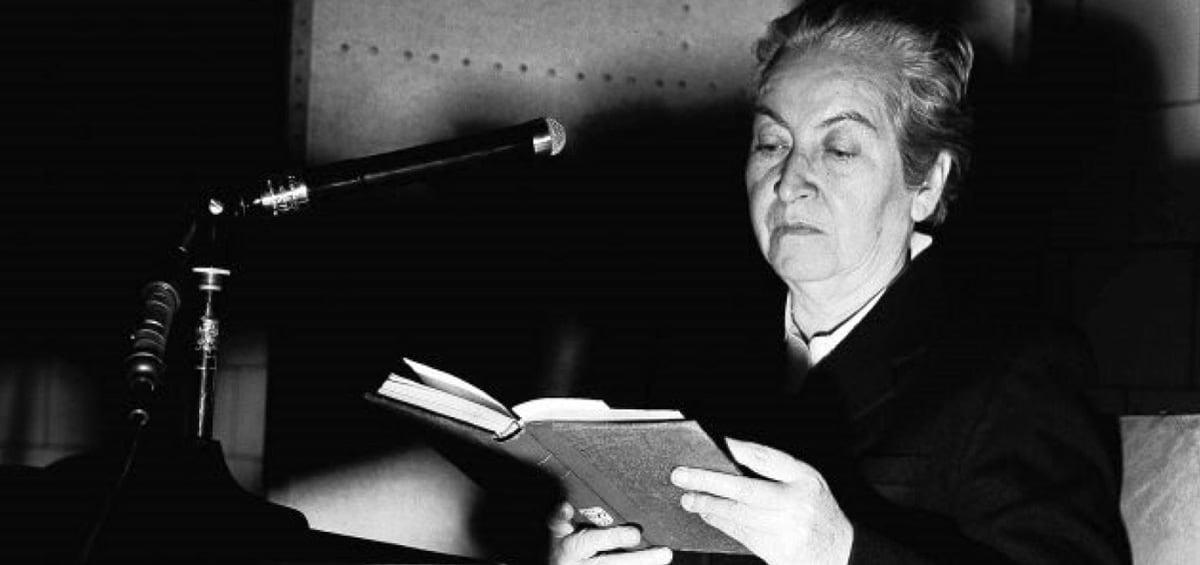 Γκαμπριέλα Μιστράλ: 126 χρόνια από τη γέννηση της