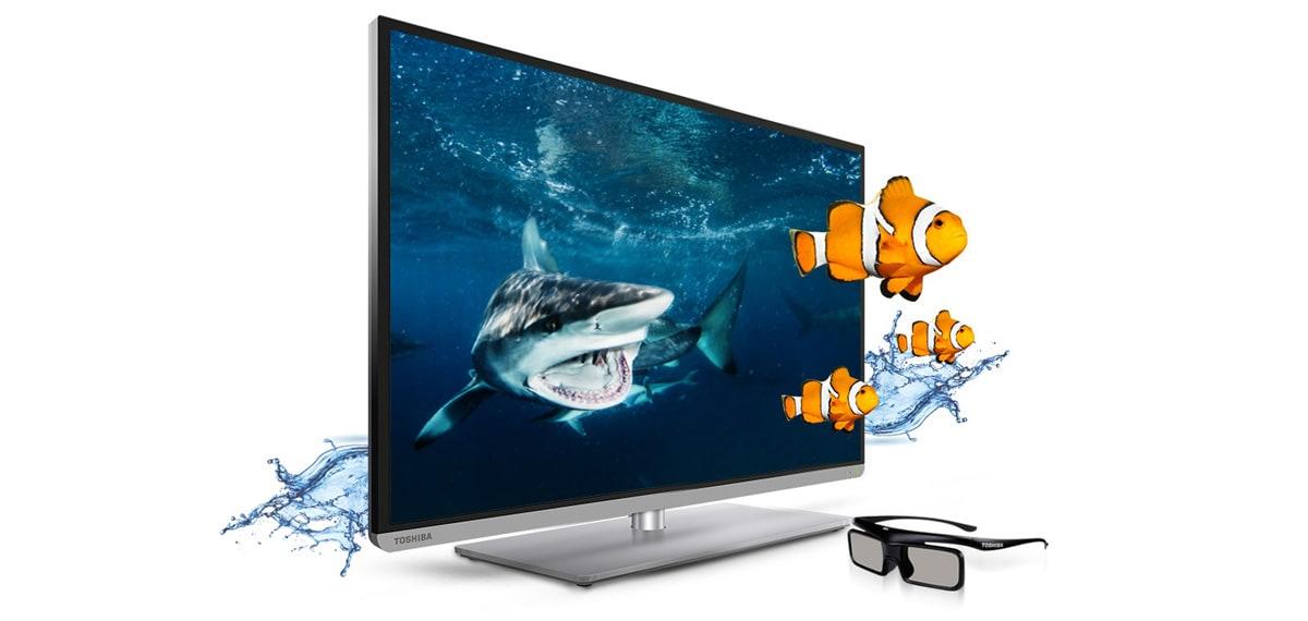 Nέα Toshiba HDTV και το 3D γίνεται πιο προσιτό από ποτέ!