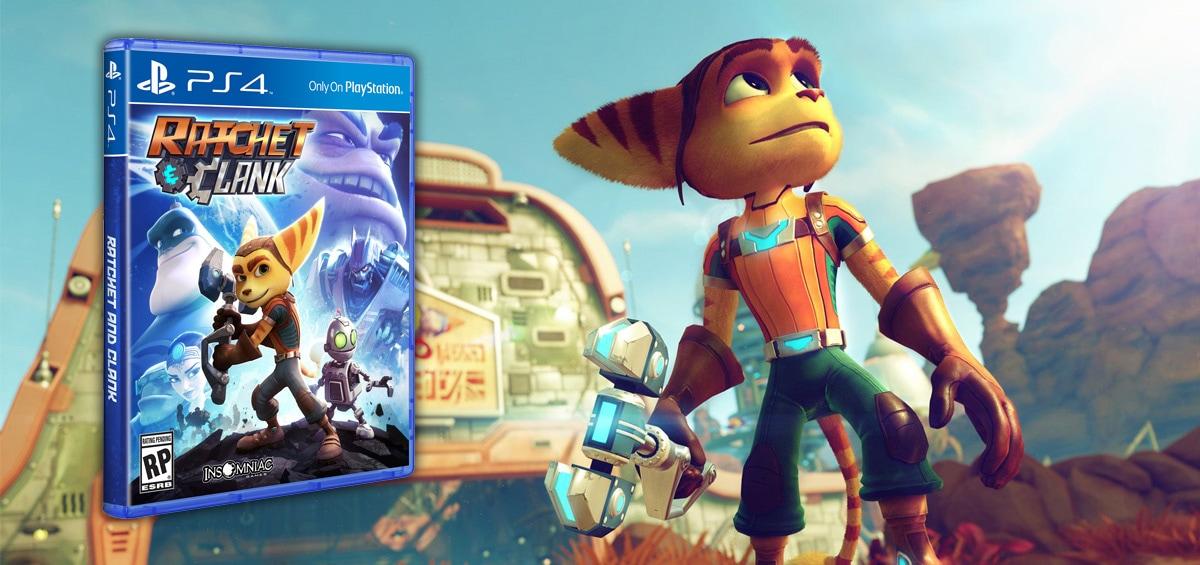Το Ratchet & Clank στο PS4!