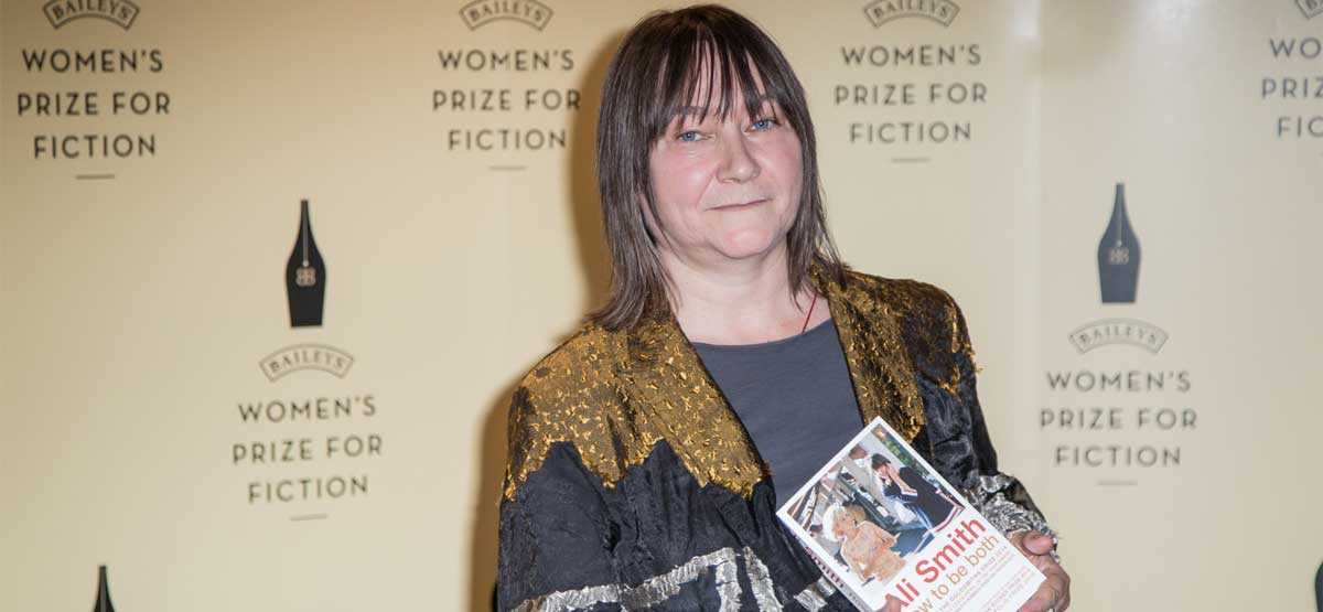 Ali Smith: H νικήτρια του Baileys Prize!