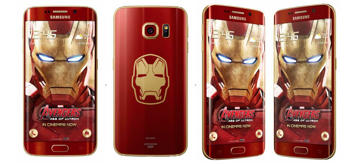 Σε Iron Man έκδοση το Samsung Galaxy S6 Edge