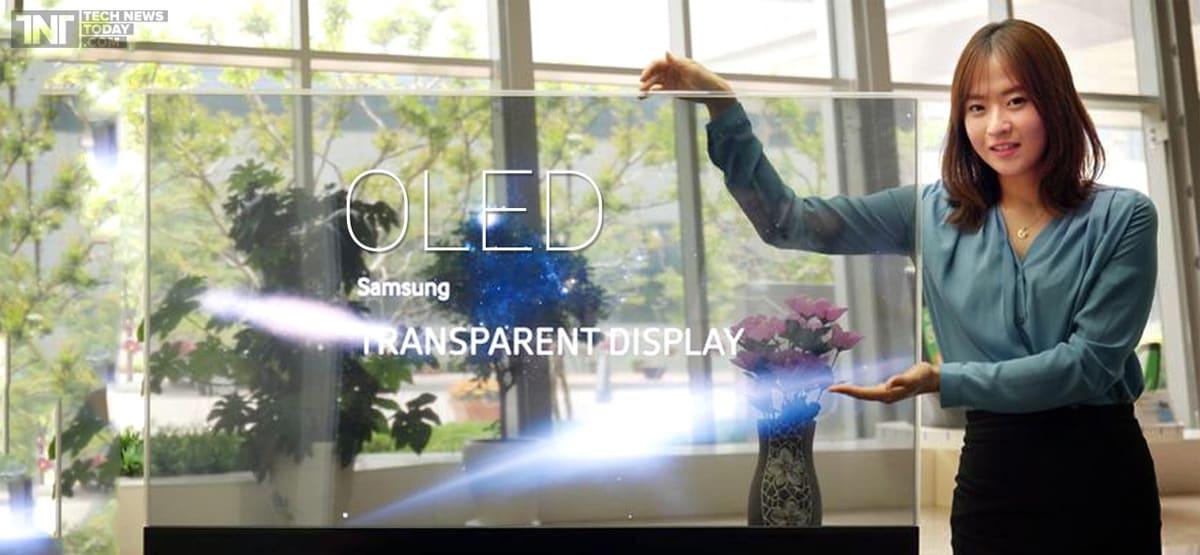 Samsung OLED: Διάφανη οθόνη ή οθόνη καθρέπτης;