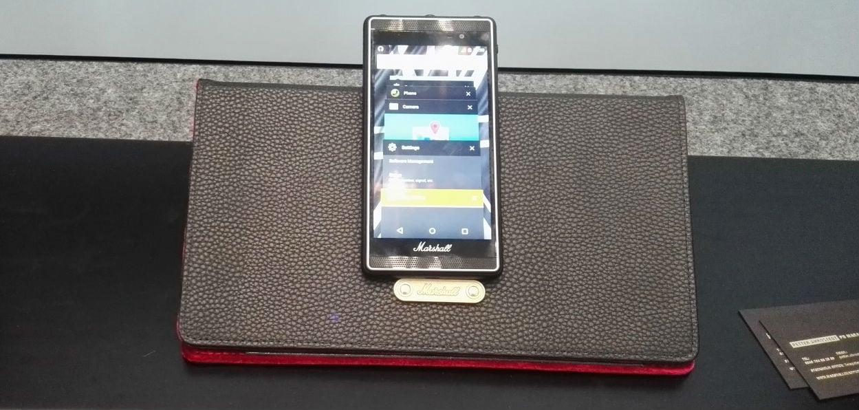 IFA 2015: Marshall London- Smartphone από μία εταιρεία-έκπληξη!