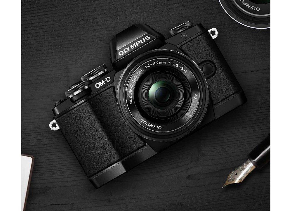 Camera Olympus E-M10 Kit 14-42mm Μαύρη