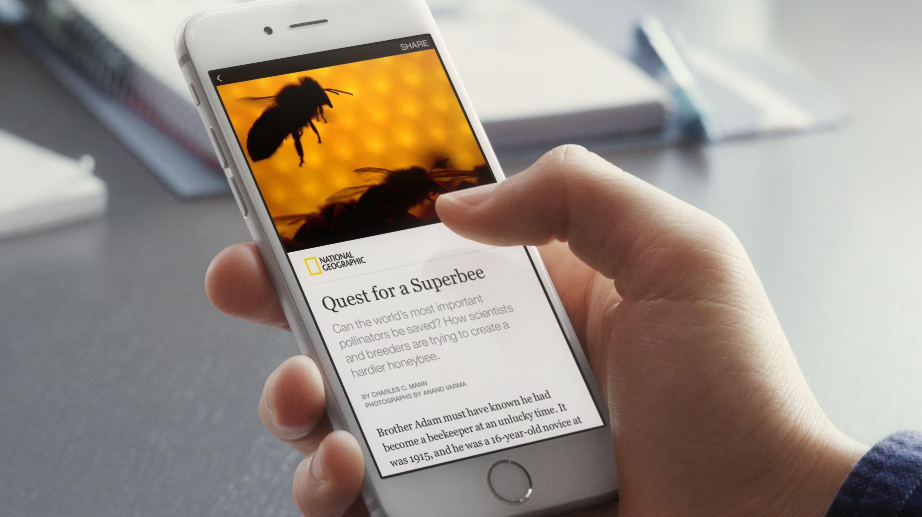 """Εσύ έχεις δει τον κεραυνό των """"Instant Articles"""" στο Facebook;"""