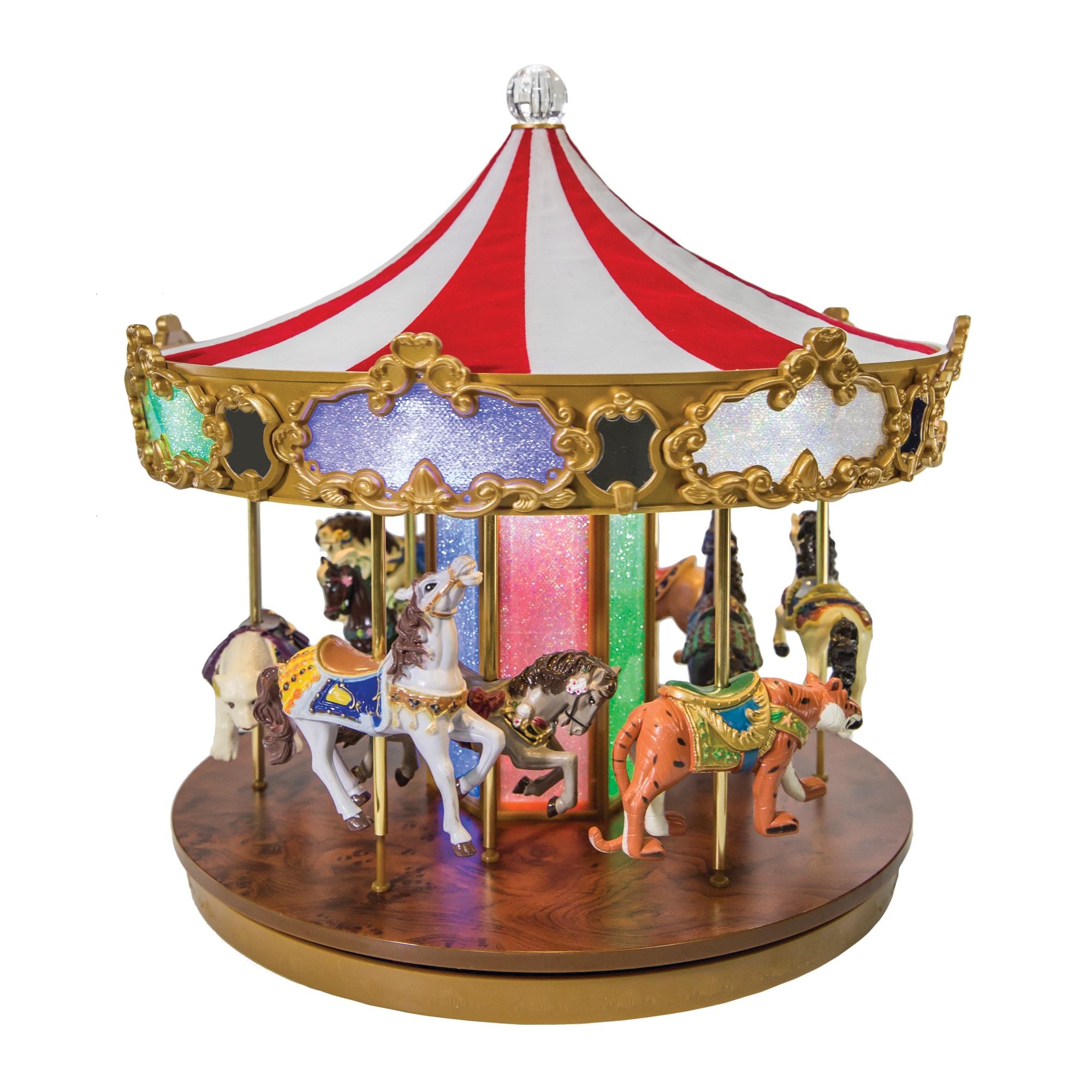 Ενισχύστε τη χριστουγεννιάτικη διακόσμηση με ένα κλασσικό carousel!