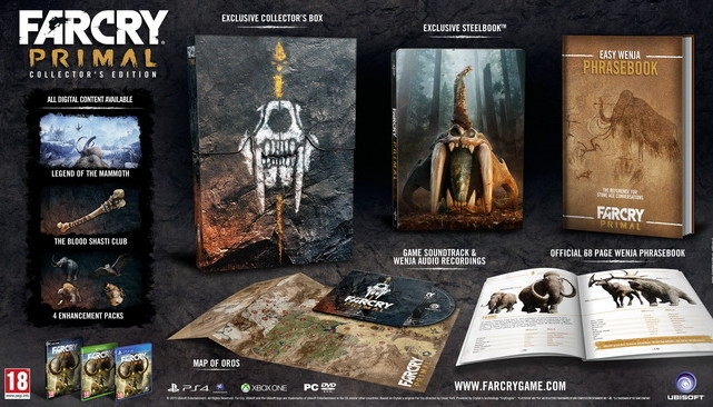 Far Cry Primal Collectors