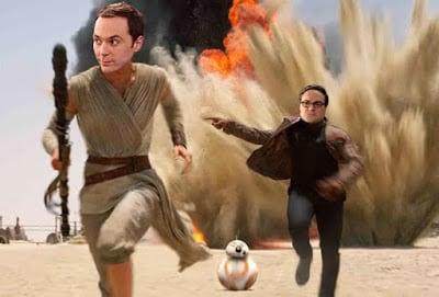 Ο Πόλεμος των Άστρων έχει εμπνεύσει και το Big Bang Theory!