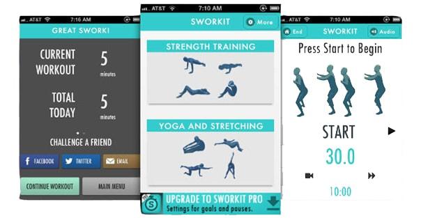 Ασκήσεις από το Sworkit: Εσύ πότε ξεκινάς stretching;