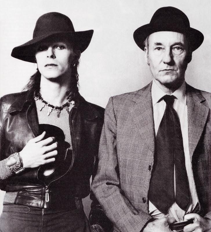 Όταν ο Bowie συνάντησε τον William S. Burroughs και μίλησαν για βιβλία...
