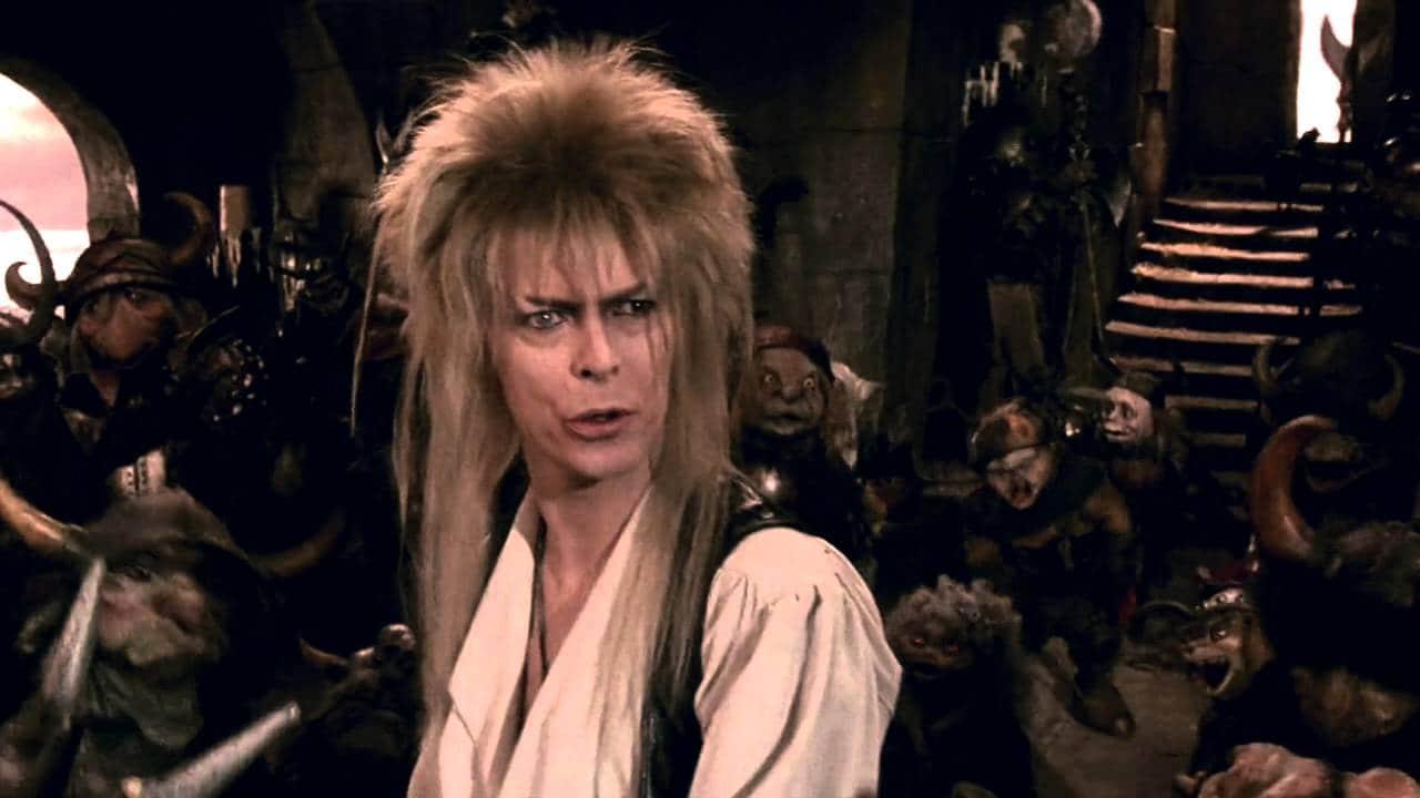 Ο David Bowie έπαιξε σε πολλές ταινίες. Ανάμεσα στους το Labyrinth του Τζιμ Χέντσον