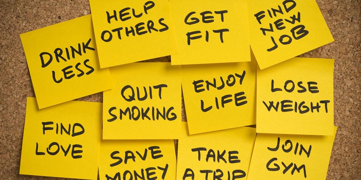 Στόχοι για τη νέα χρονιά & βήματα για να τους πετύχεις