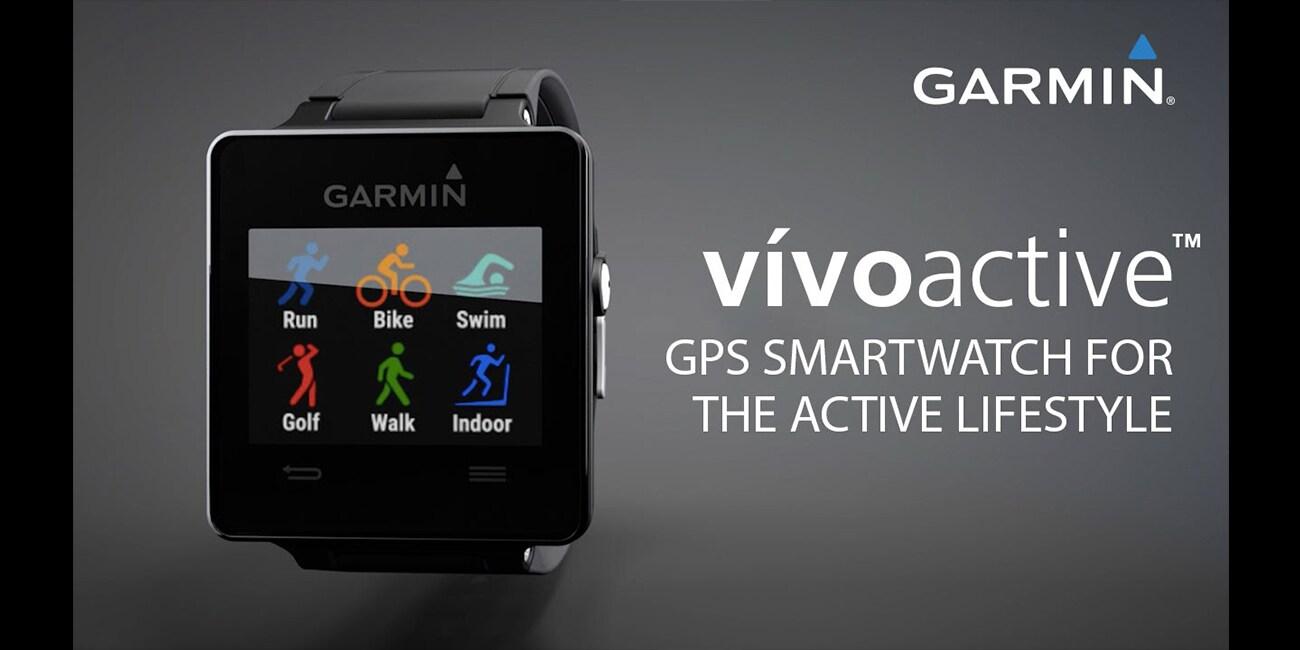 MWC2016: Wearables της Garmin Vivoactive HR και Vivofit 3
