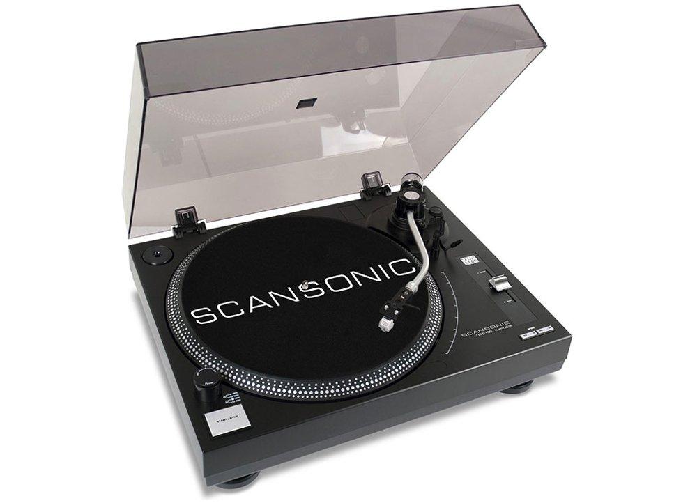 Με το πικάπ Scansonic USB100 απολαμβάνεις υψηλής ποιότητας αναπαραγωγής βινυλίου