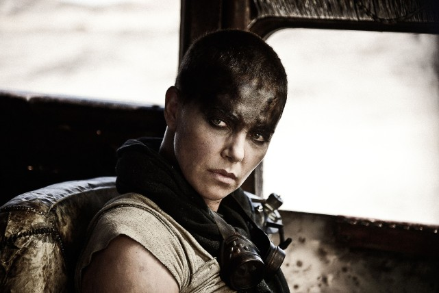 charlize theron in mad max ap