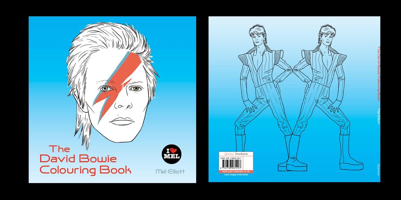 Colouring books: Βάλε χρώμα στον David Bowie!