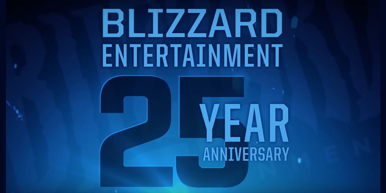 Η Blizzard γιορτάζει τα 25 χρόνια παρουσίας