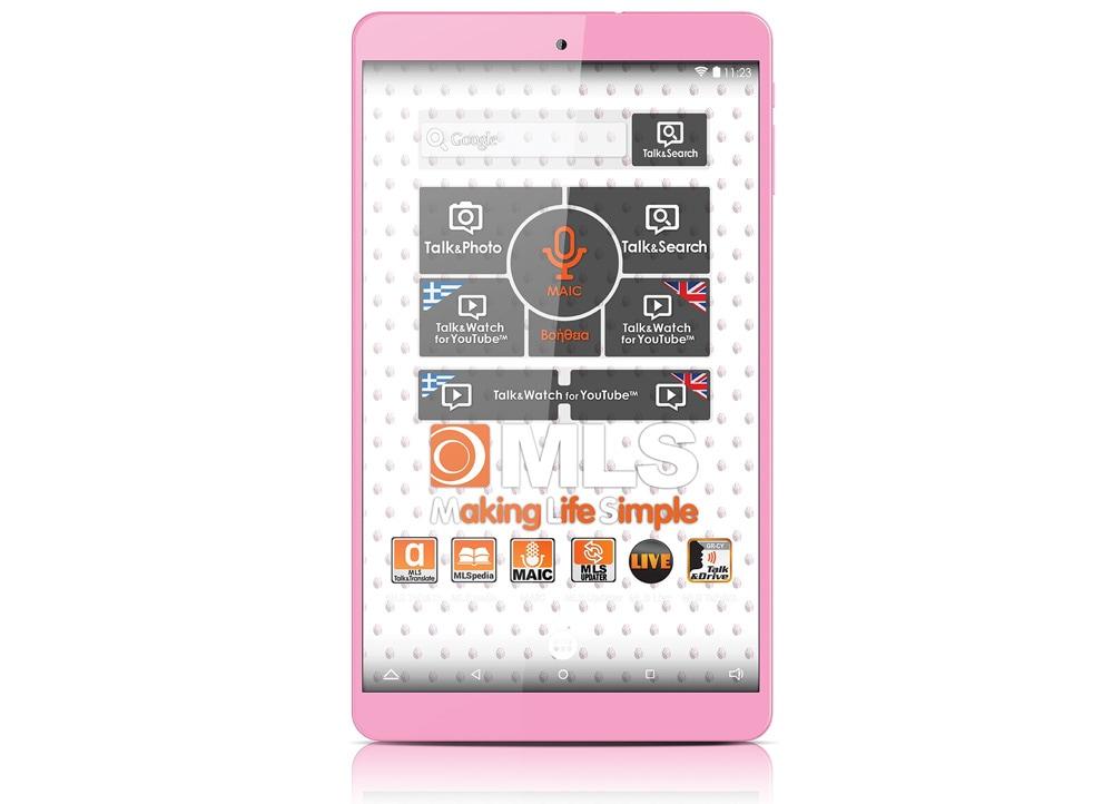 Tablet MLS στο χρώμα του τριαντάφυλλου!