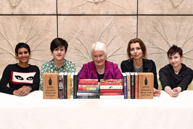 Baileys Women's Prize for Fiction 2016 Judges with Longlist