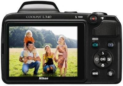 Camera Nikon Coolpix L340  σε μειωμένη τιμή!