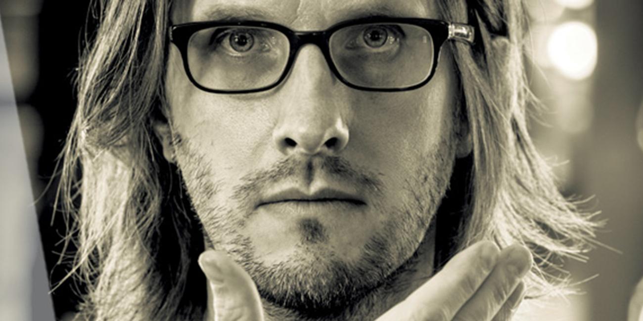 Ο Steven Wilson στο Badminton Theater