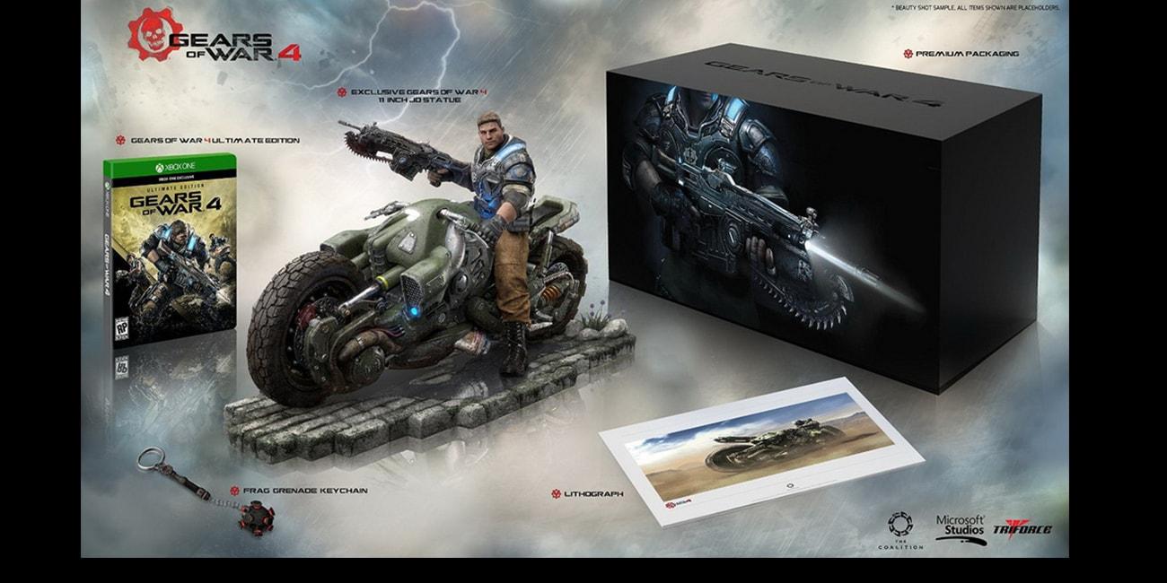 Αποκαλύφθηκε η συλλεκτική έκδοση του Gears of War 4