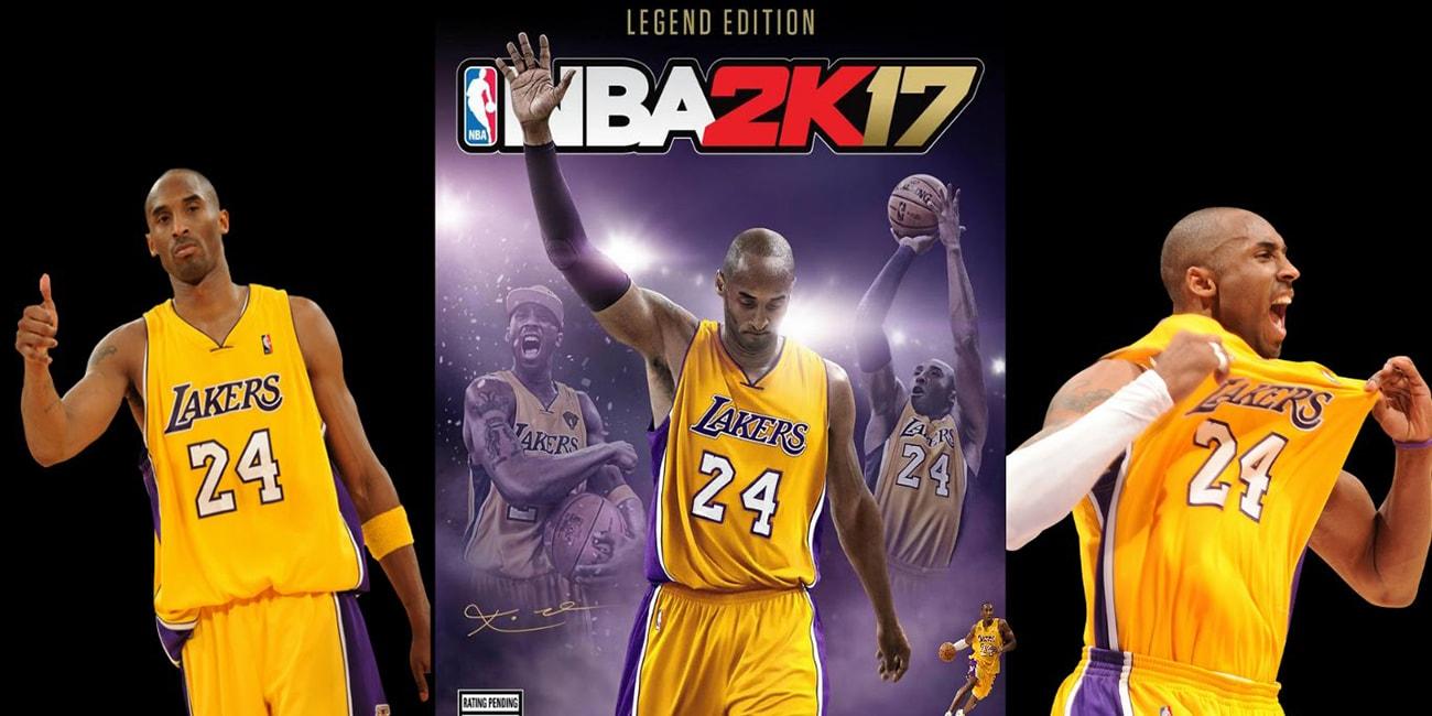 Το NBA 2K τιμά τον Kobe Bryant με το 2K17 Legend Edition