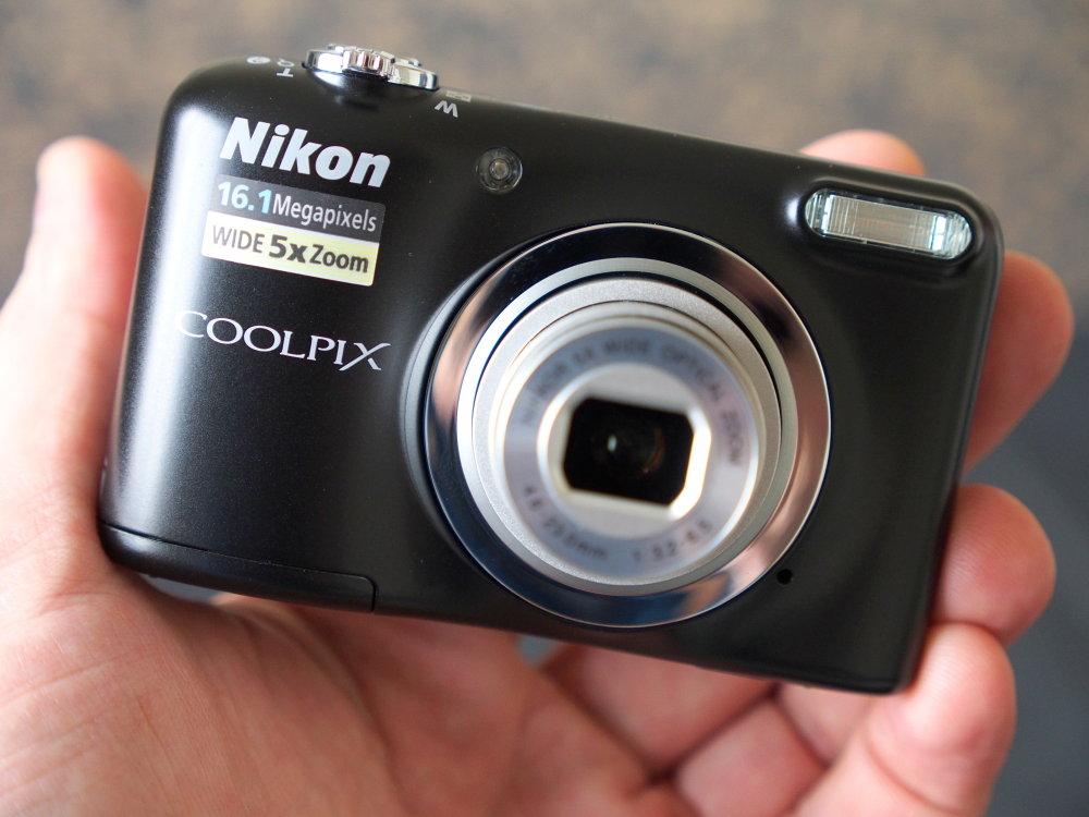 Nikon Coolpix A10:  Compact camera με μοντέρνο σχεδιασμό