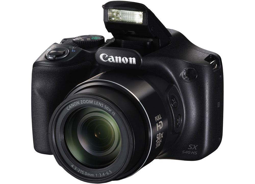 Canon Powershot SX540 HS: Με λειτουργία απόσβεσης κραδασμών