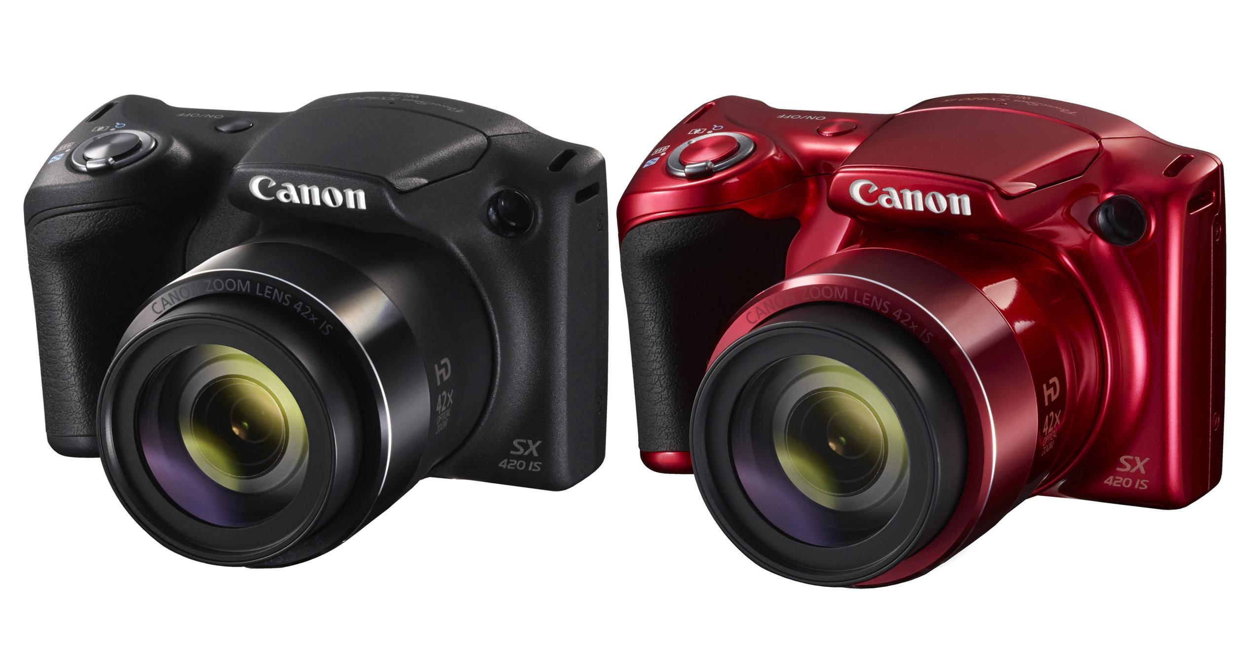 Canon Powershot SX420 IS: Μοντέρνος σχεδιασμός και ευελιξία