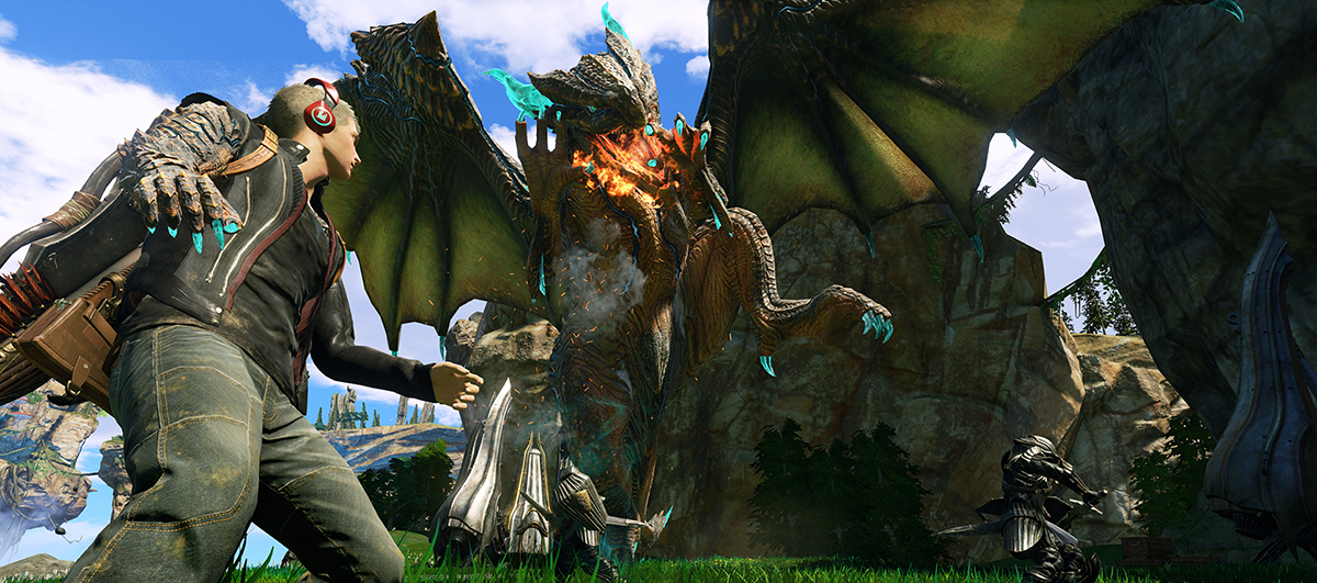 To Scalebound έρχεται σε Windows 10 και Xbox One