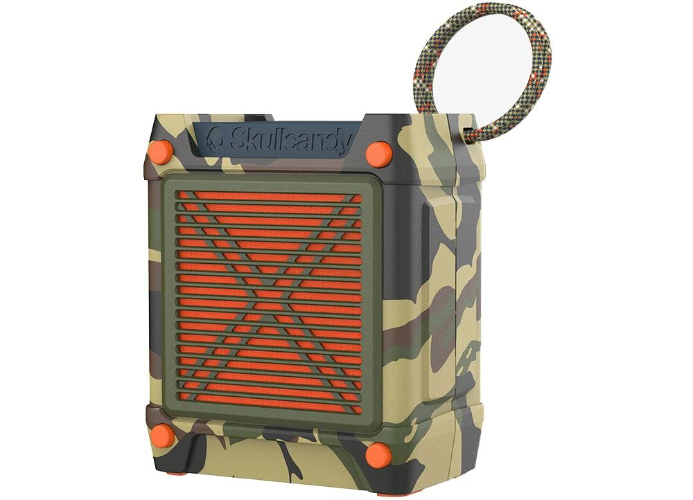 Το φορητό ηχείο Skullcandy Shrapnel Camolive Bluetooth μεταφέρει την αγαπημένη σου μουσική όπου και αν είσαι.