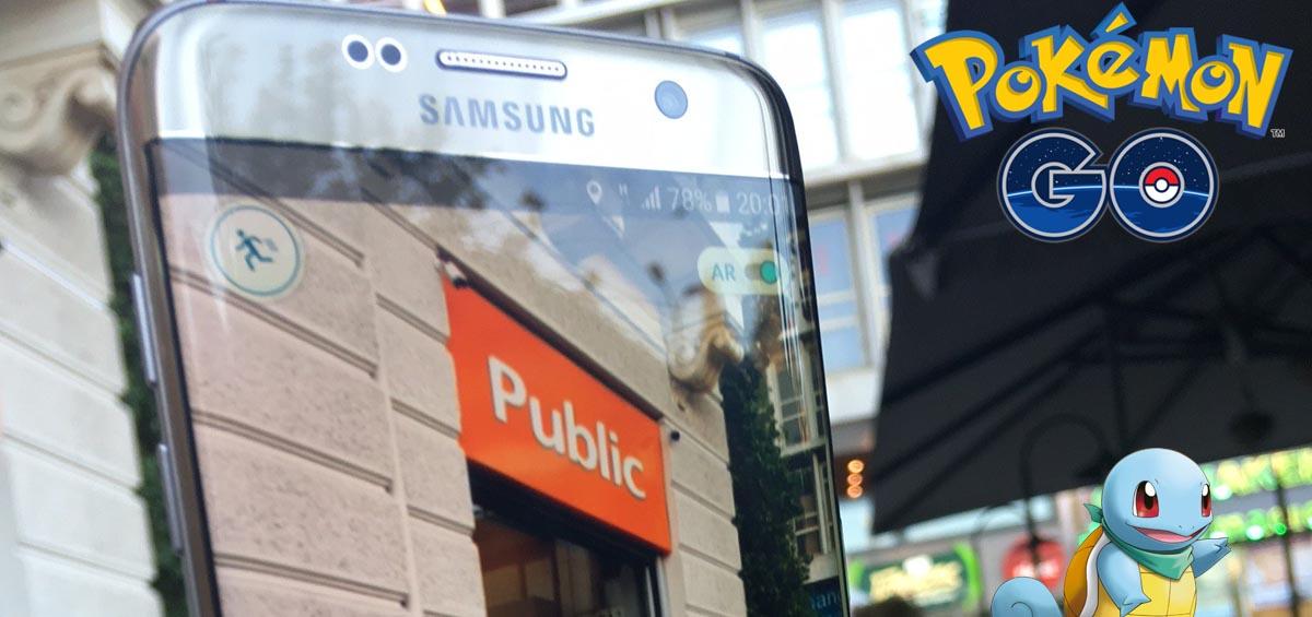 Tα 1α Pokemon Go hunting events στα Public Συντάγματος & Τσιμισκή παρέα με τη Samsung!