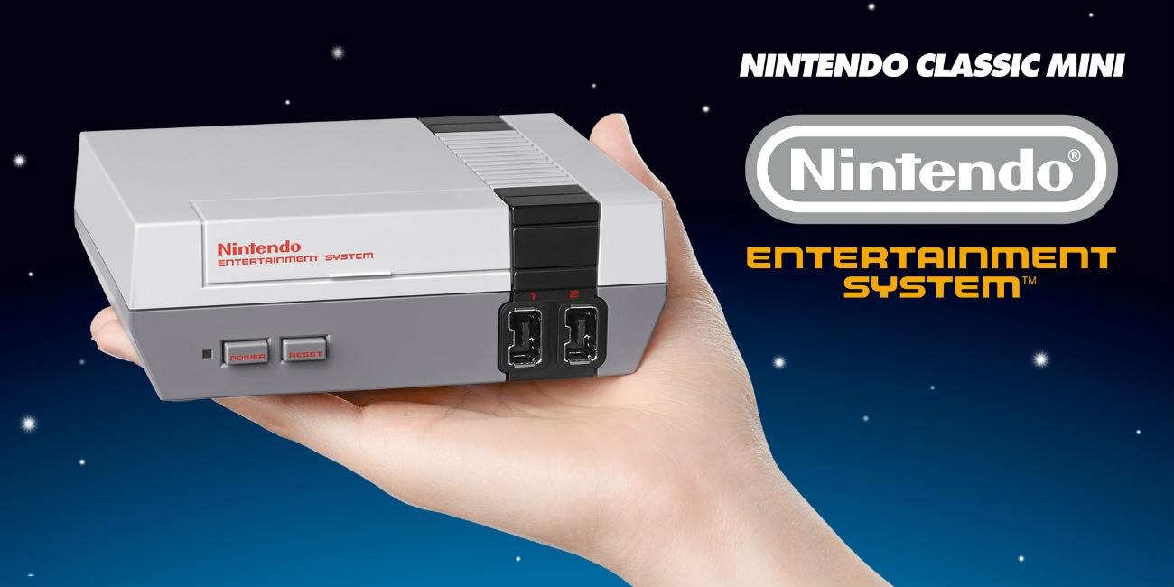 Η κονσόλα NES επιστρέφει στο σήμερα του gaming!