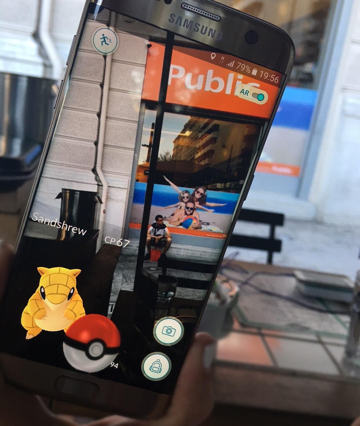 public - samsung pokemon