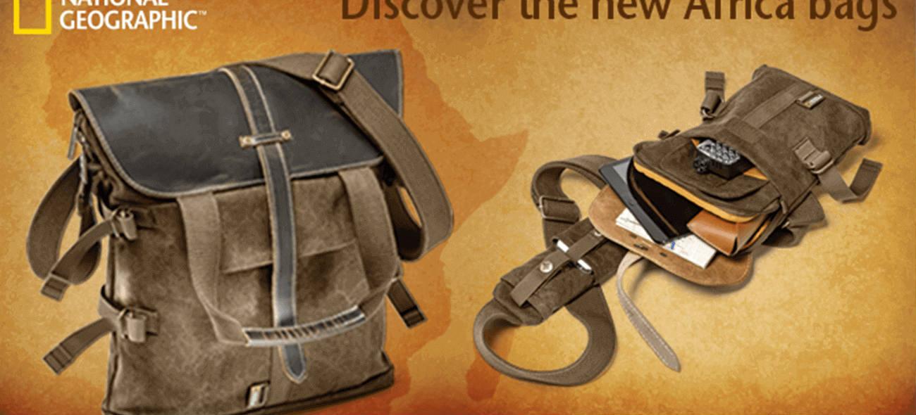 H ιδανική τσάντα για τους ταξιδιώτες που αγαπούν την περιπέτεια!