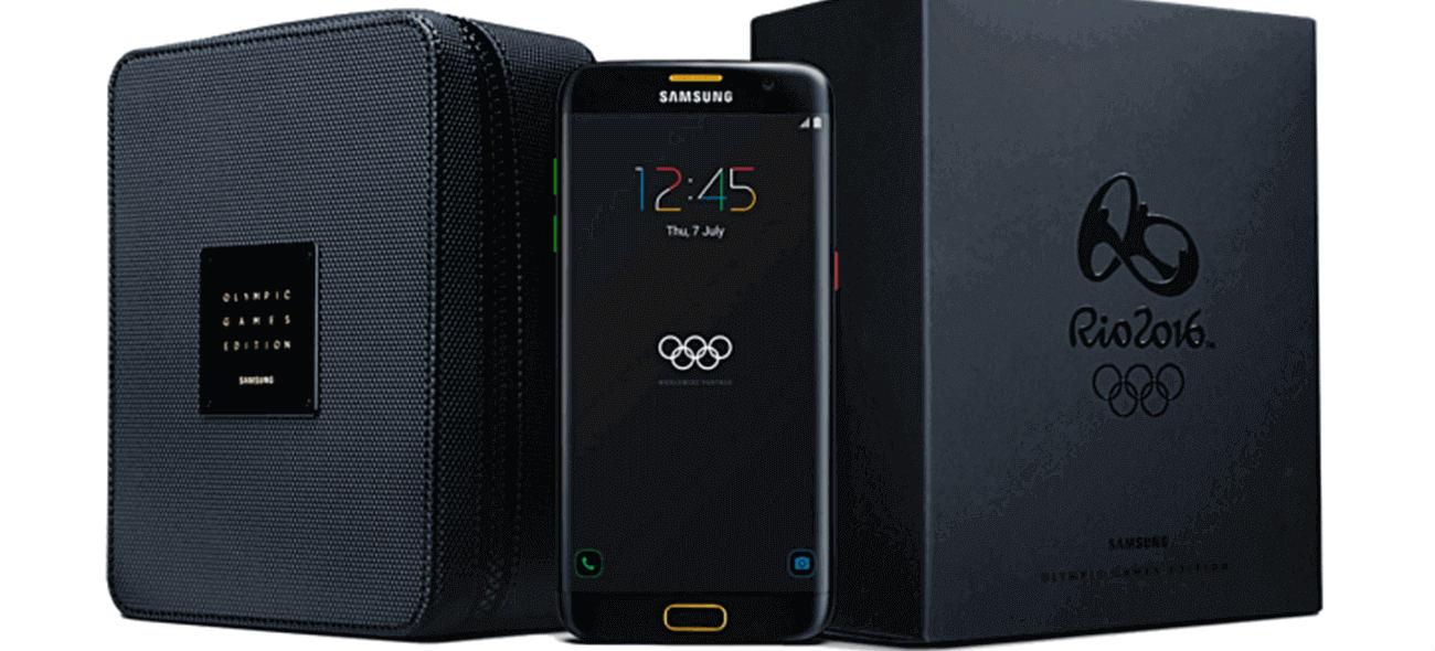 S7: Η Samsung έφτιαξε μια ειδική έκδοση για τους Ολυμπιακούς Αγώνες!