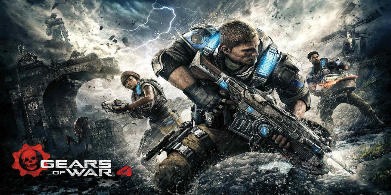 4K gameplay για το Gears of War 4!