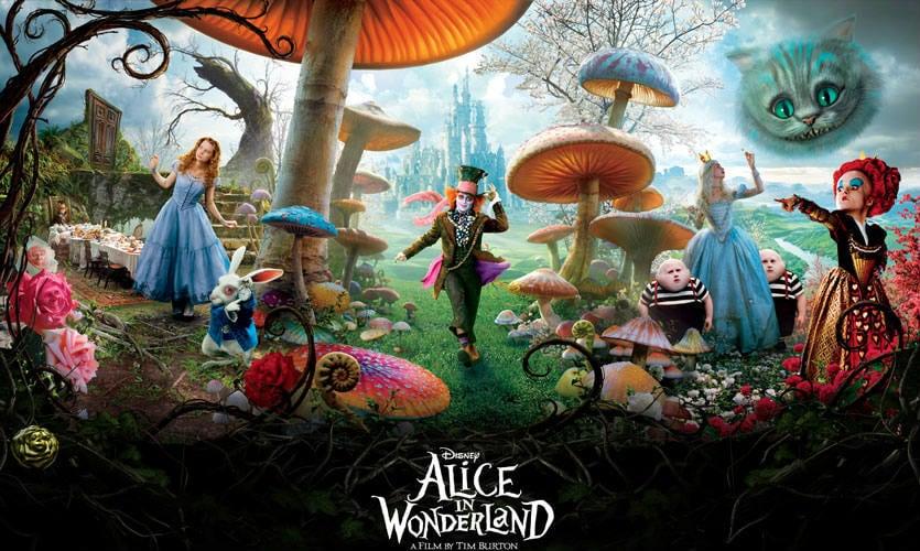 public - alice in wonderland